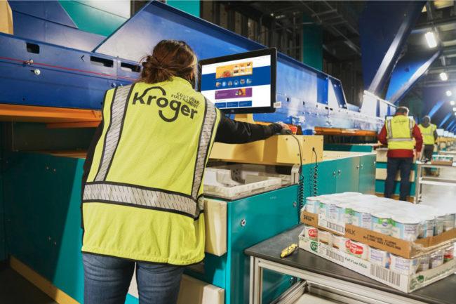 Kroger Cincinnati fulfillment center