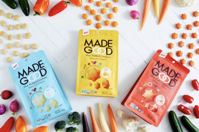 Star Puffed Crackers from MadeGood