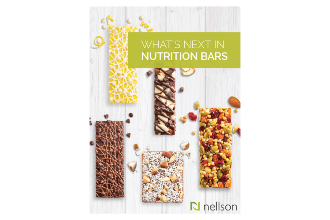 """""""What's next in nutrition bars"""" whitepaper cover"""