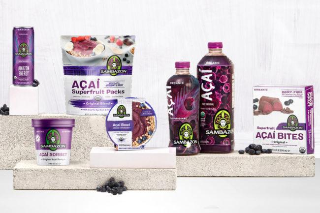Sambazon acai products
