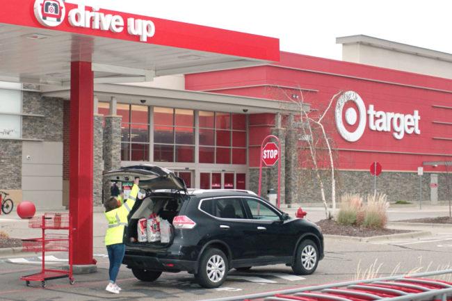 Target drive-up