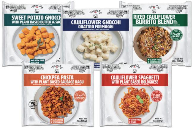 Tattooed Chef multi-serve plant-based meals