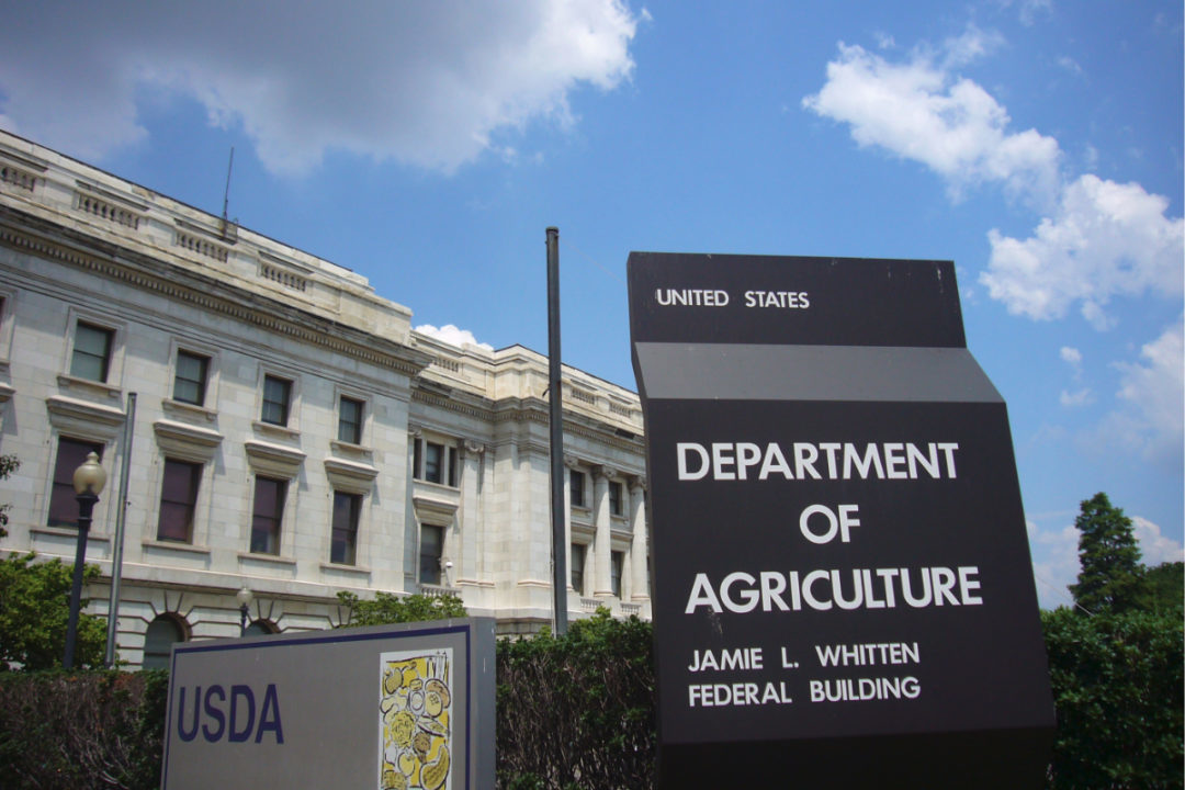 USDA building sign