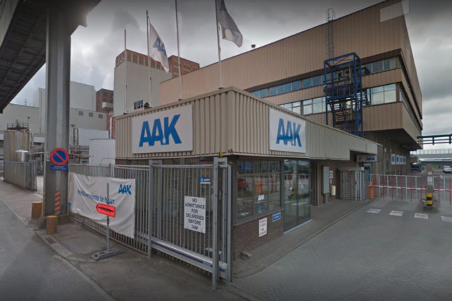 AAK Belgium bakery fats plant