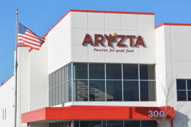 Exterior of Aryzta distribution center