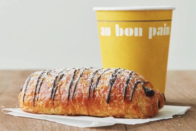 Au Bon Pain pastry and coffee
