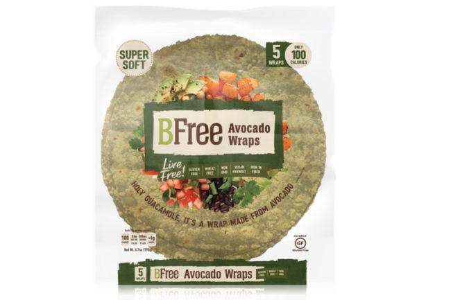 BFree Foods Avocado Wraps