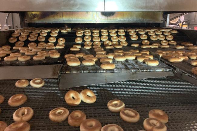 Bagel Boy, Inc. bagel production line