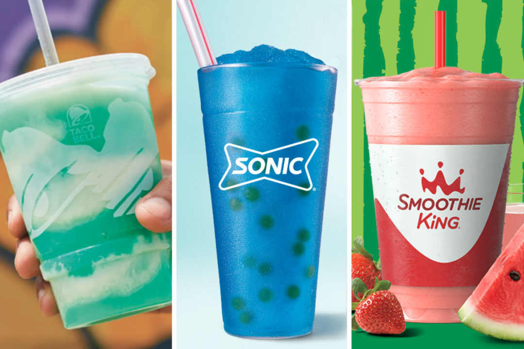 New menu items from Taco Bell, Sonic, Smoothie King