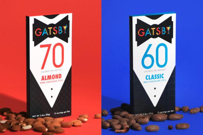 Gatsby chocolate bars