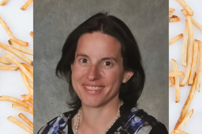 Ghislaine Joly, new vice president of product research and development and innovation at Farther Farms