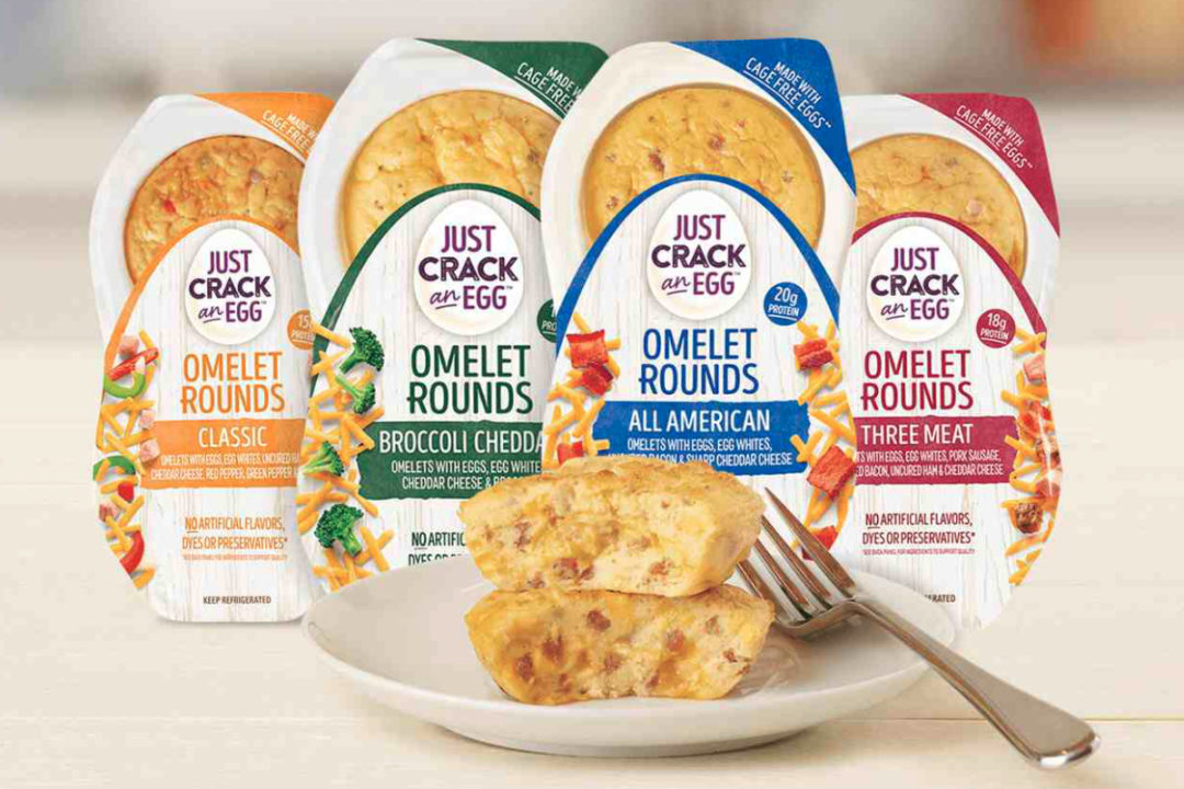Just Crack an Egg Omelet Rounds