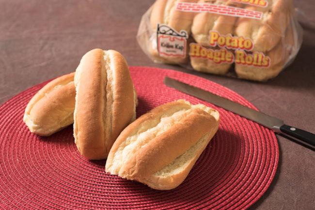 Koffee Kup Bakery potato hoagie rolls