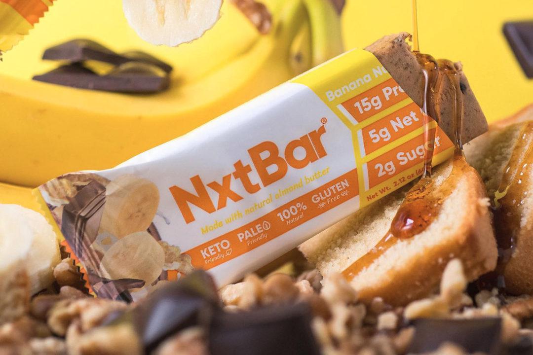 NxtBar banana nut nutrition bar