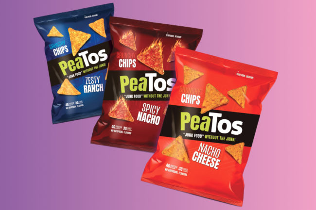 Peatos tortilla-style chips