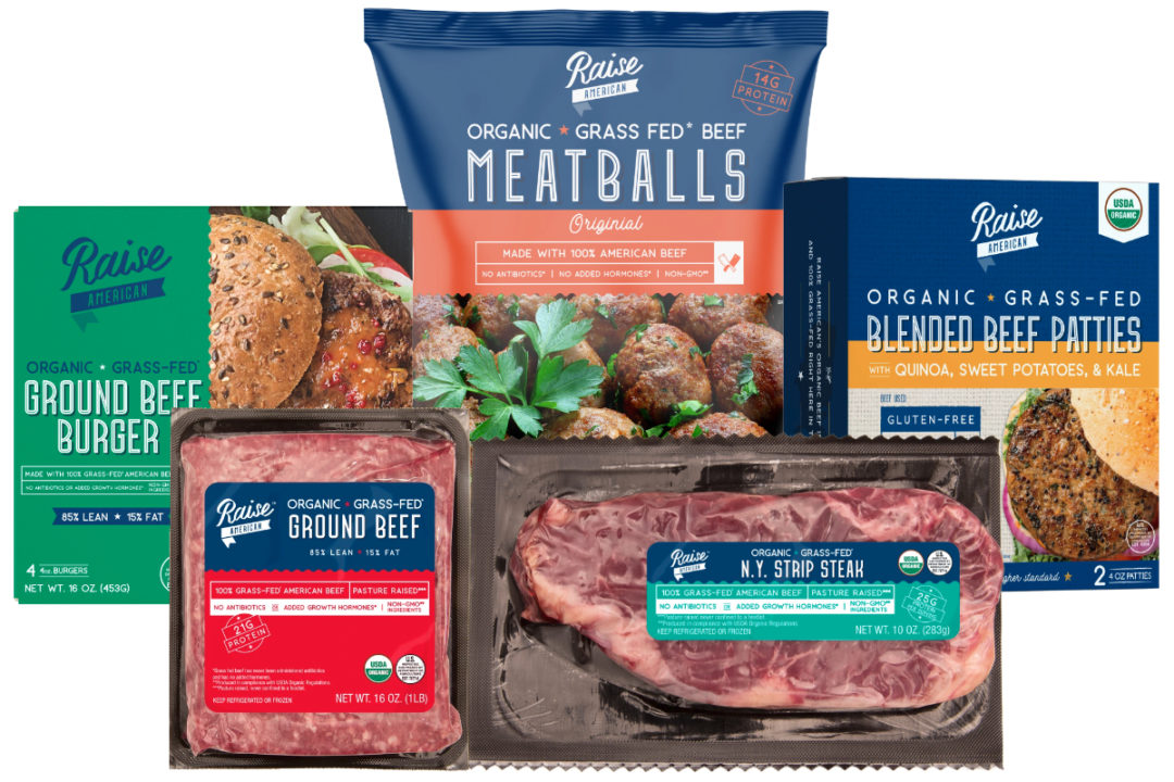 Raise American beef products