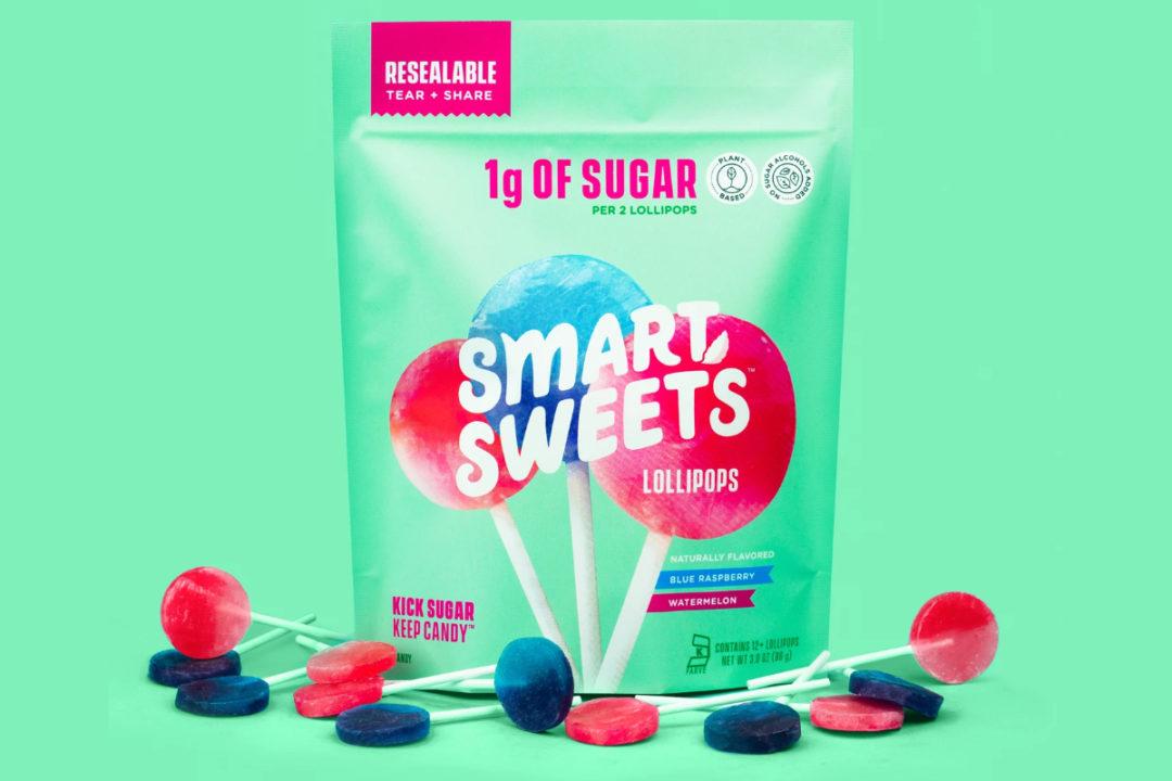 SmartSweets lollipops