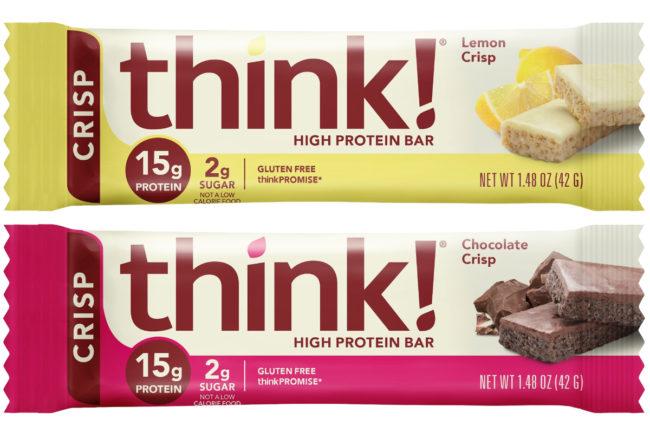 Think! High Protein Crisp Bars