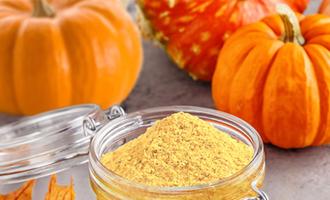 Tree top pumpkin powder lead