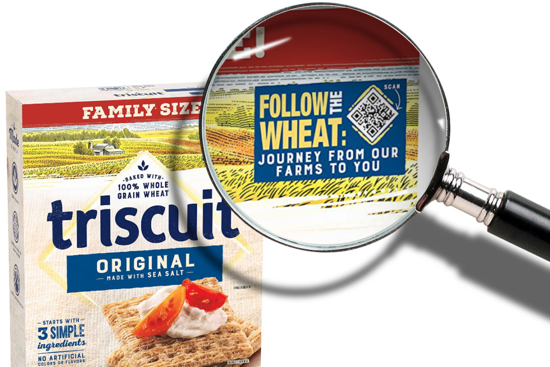 Triscuit Follow Your Wheat boxes