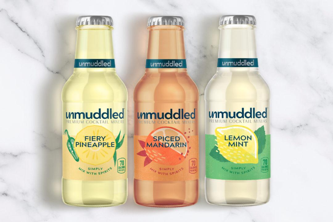 PepsiCo Unmuddled premium non-alcohol cocktail mixers