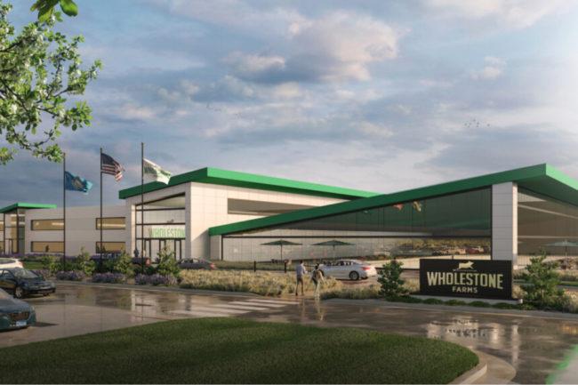 Wholestone Farms Sioux Falls, SD, facility rendering
