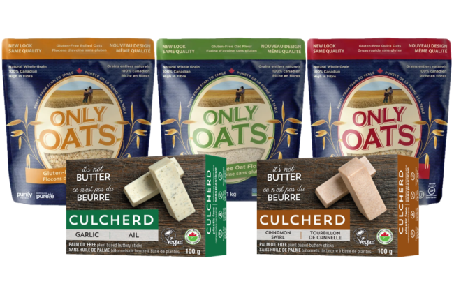 Only Oats and Culcherd products from Above Food Corp.