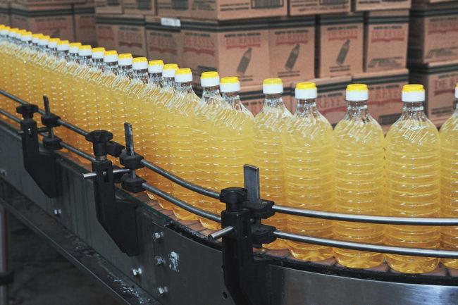 Bunge edible oil production