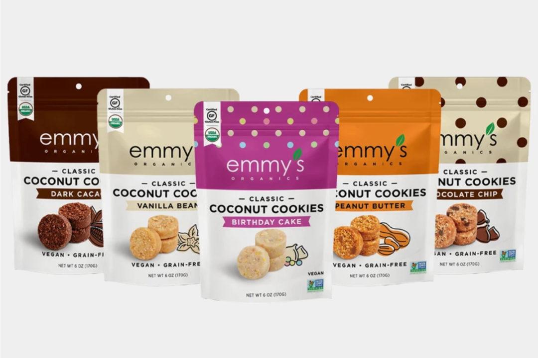 Emmy's Organics cookies