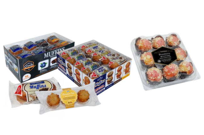muffin products recalled by Give & Go Prepared Foods