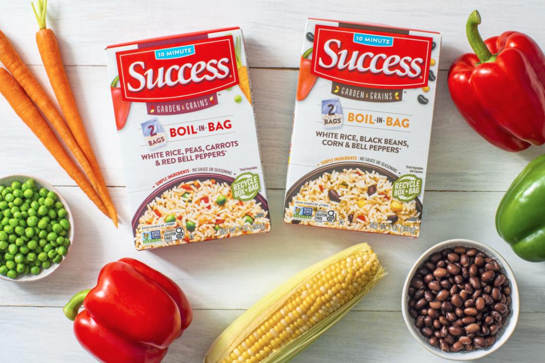 Success Garden & Grains Blends from Riviana Foods Inc.