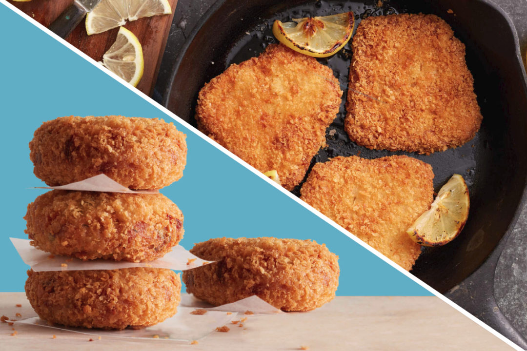 Good Catch Plant-Based Fish-Free Fillets and Plant-Based Breaded Crab-Free Cakes at Long John Silver's