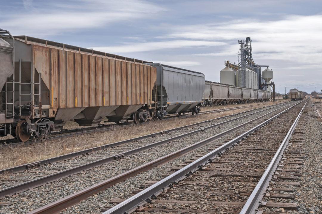 Grain railway