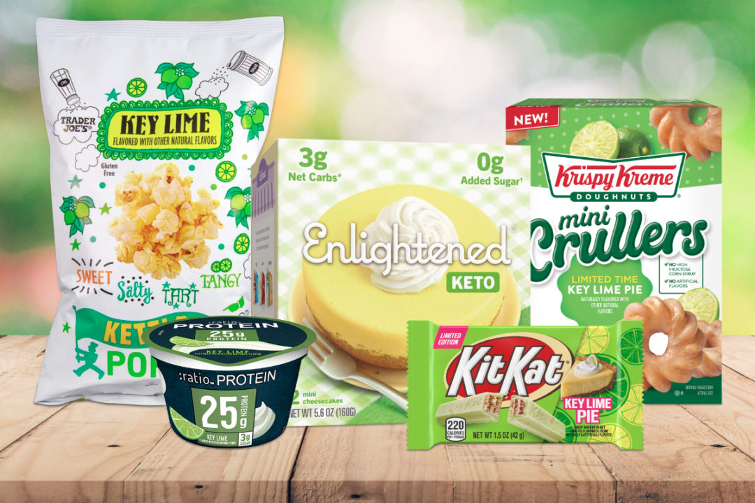 Key lime flavored products