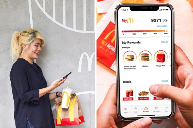 MyMcDonald's Rewards app and loyalty program