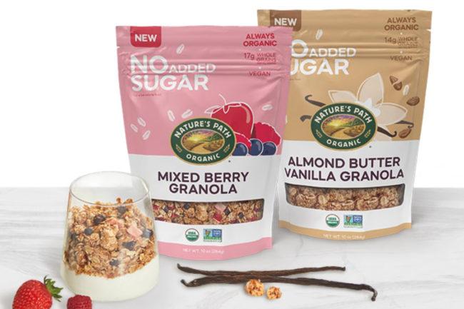 Nature's Path Organic Foods No Added Sugar Granola