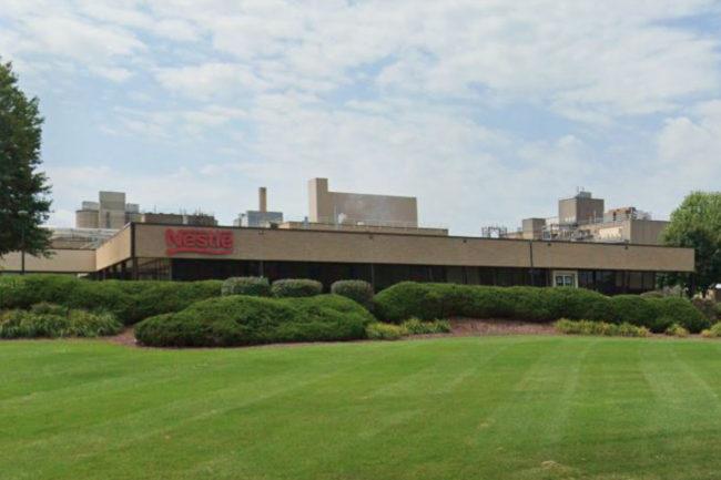 Nestle Burlington, Wis., facility