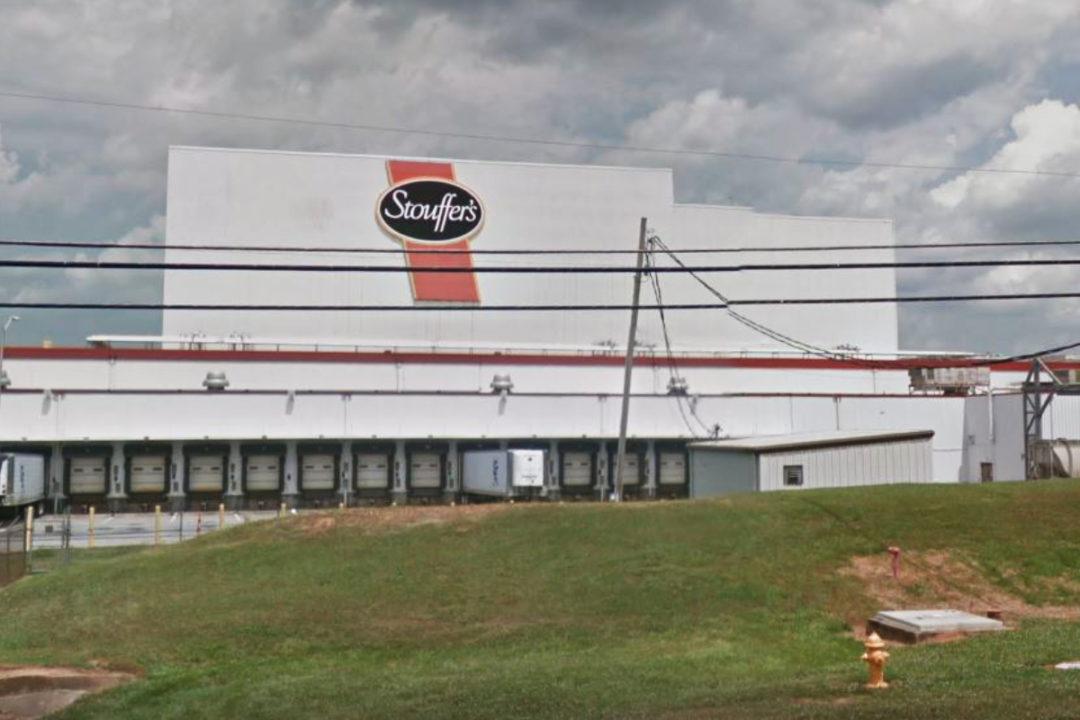 Nestle Gaffney, SC, frozen foods facility