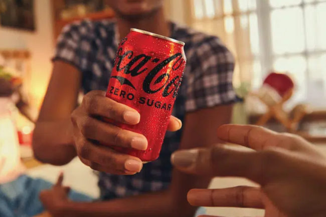 New Coca-Cola Zero Sugar