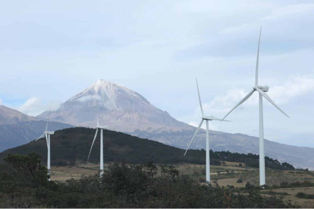 PepsiCo wind farm in Mexico