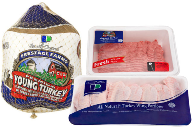 Prestage Farms turkey products