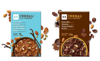 Rxbar cereal lead
