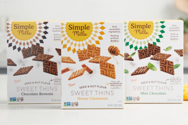 Sweet Thins cookies from Simple Mills