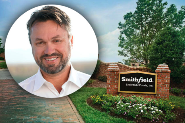 Smithfield HQ and Shane Smith, new CEO
