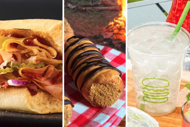 New menu items from Quiznos, Voodoo Doughnut, Shake Shack