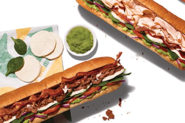 New Subway sandwiches