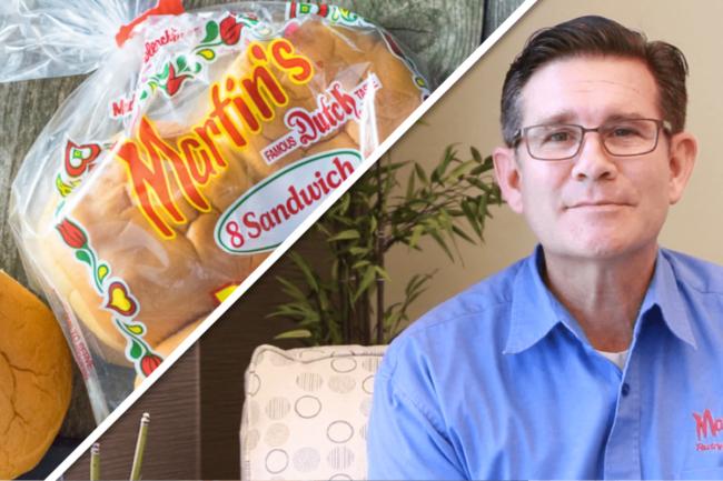 Anthony (Tony) Martin, new president of Martin's Famous Pastry Shoppe, Inc.