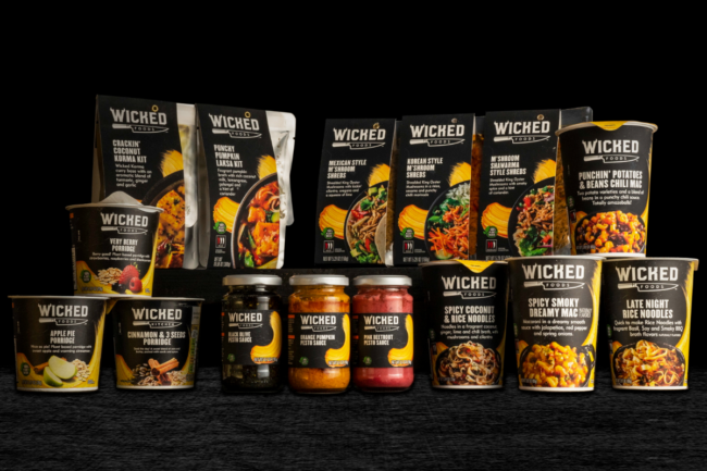Wicked Kitchen products