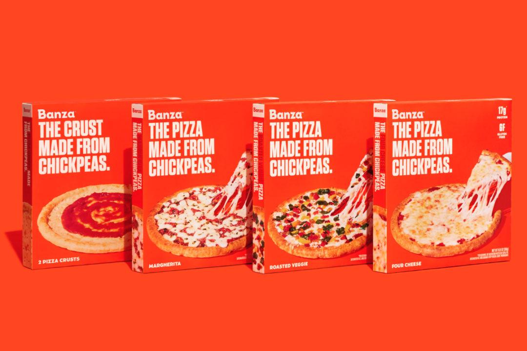Banza chickpea pizza