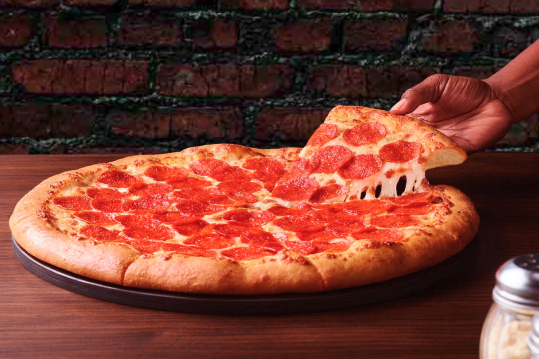Pizza Hut Beyond Pepperoni Pizza